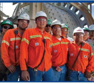 1416 empleados directos en una mina