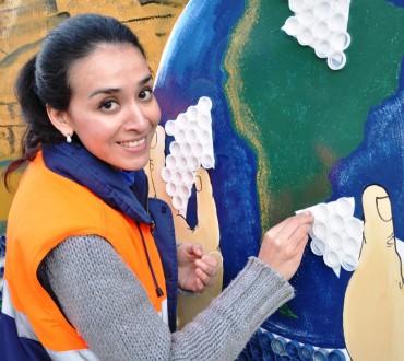 Celebración del Día del Reciclaje en Minera Alumbrera