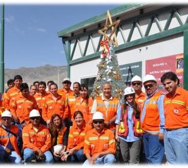 El árbol de Navidad de Minera Alumbrera