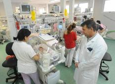 Esmeralda, una beba de 800 gramos, estrenó la Maternidad del Sur