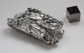 El molibdeno, mineral esencial en aceros aleados.