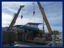 Minera Alumbrera armó íntegramente 5 camiones en el taller del yacimiento