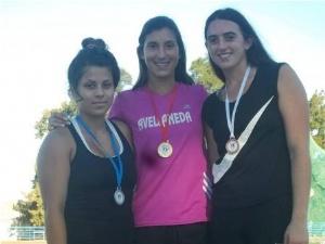 Araceli Montivero, 2da en Martillo en el Torneo Iniciación de la FAM