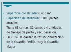 Nuevas obras en la Maternidad del Hospital Dr. Belascuain