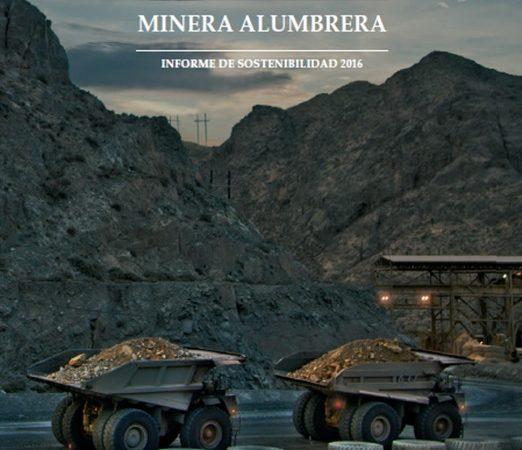 Minera Alumbrera Informe de Sostenibilidad 2016