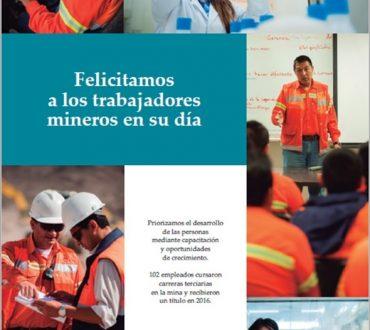 Dia del trabajador minero