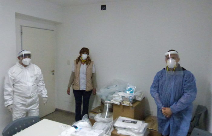 Minera Alumbrera entregó elementos de bioseguridad a hospitales de Andalgalá, Belén y Santa María