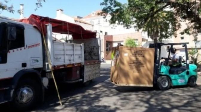 Minera Alumbrera donó una cabina de bioseguridad para el Hospital de Niños