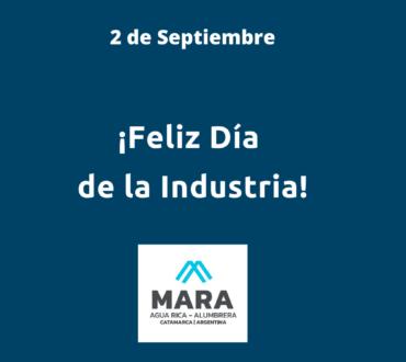 ¡Feliz Día de la Industria!